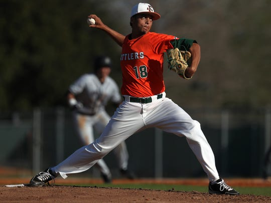 FAMU's Chandellor Benton pitches against Brown during