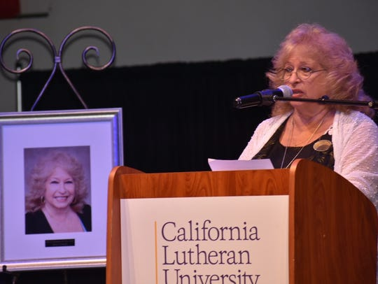 Shari Schultz of Simi Valley was named woman of the