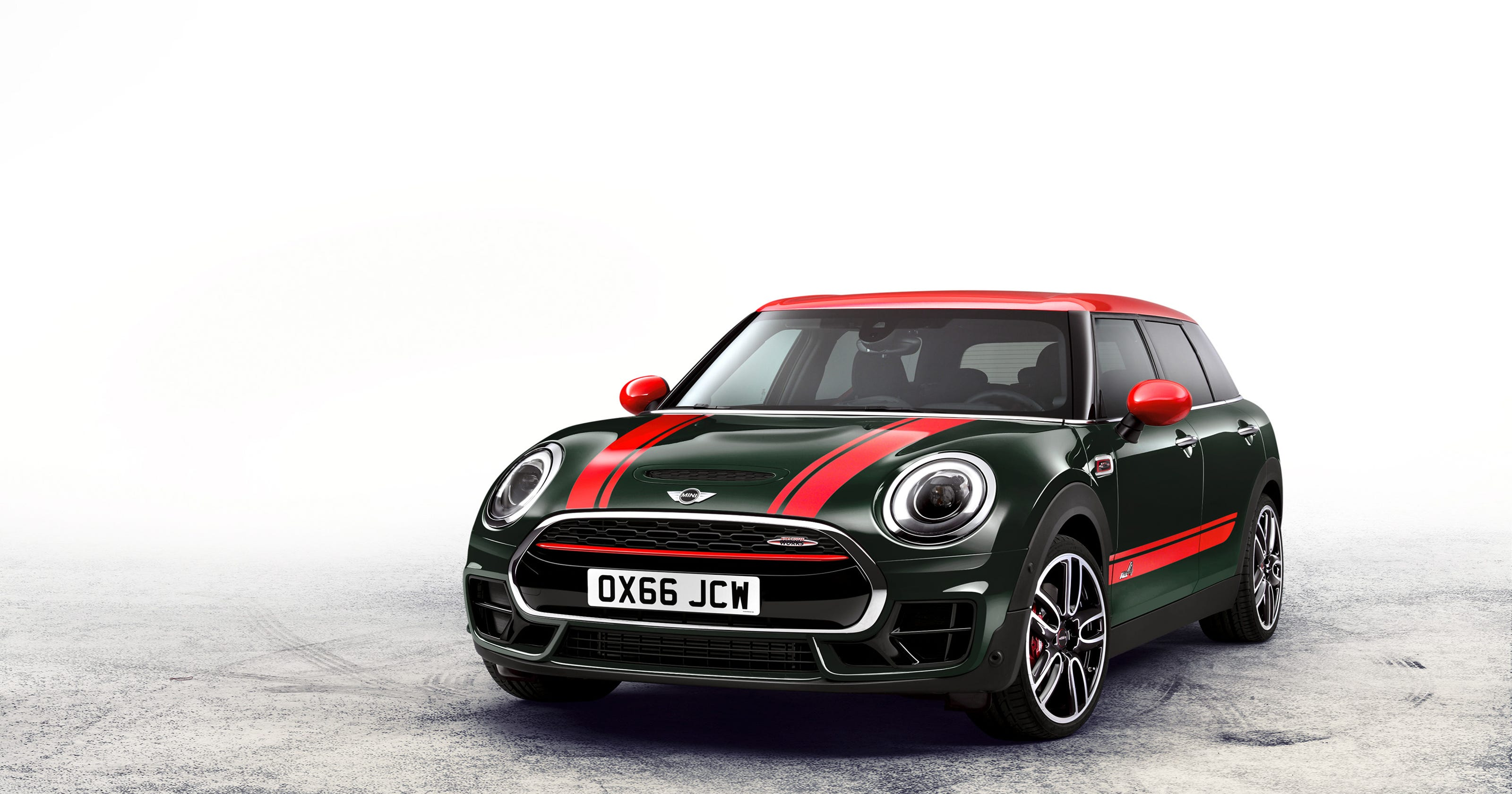Review 2017 Mini John Cooper Works Clubman All4 Is Quaint Souped Up