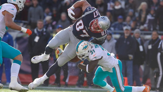 Rob Gronkowski presents a matchup nightmare for the Bills.