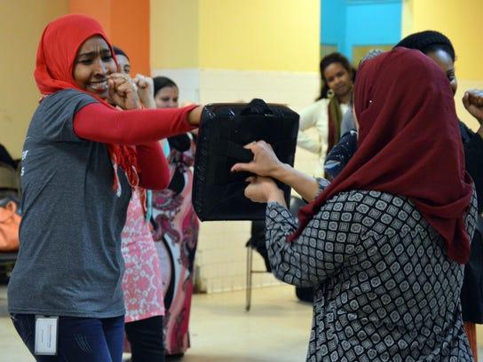 Exchange Muslim Women Self Defense
