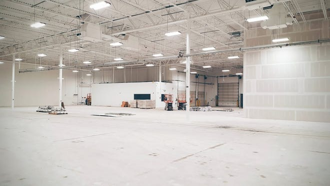 Google said Wednesday it plans to move into a 53,000 square foot building in Novi where it will work on the development of self-driving vehicles. It posted this photo with its announcement on May 25, 2016.