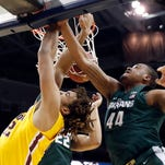 Michigan State bounced from Big Ten tourney by Minnesota, 63-58