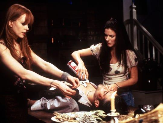 (l-r)   Nicole Kidman, Goran Visnjic, and Sandra Bullock