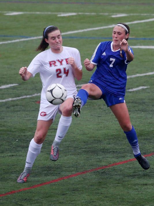 RYE VS PEARL RIVER GIRLS SOCCER
