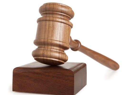 Justice court gavel