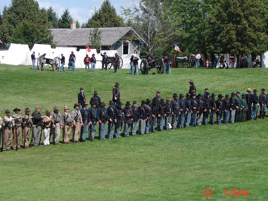 The story of the Civil War will return to the Manitowoc County Historical Society's Pinecrest Historical Village.