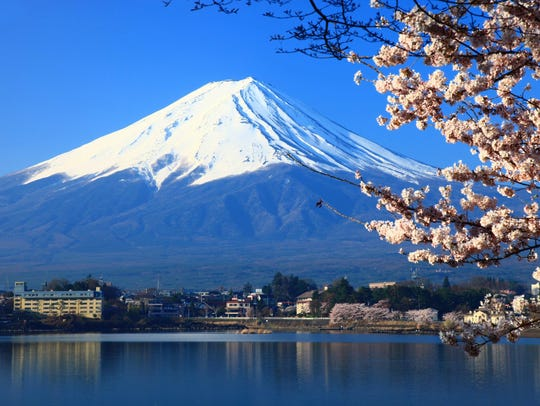 Having seen Mount Fuji from Tokyo and the bullet train