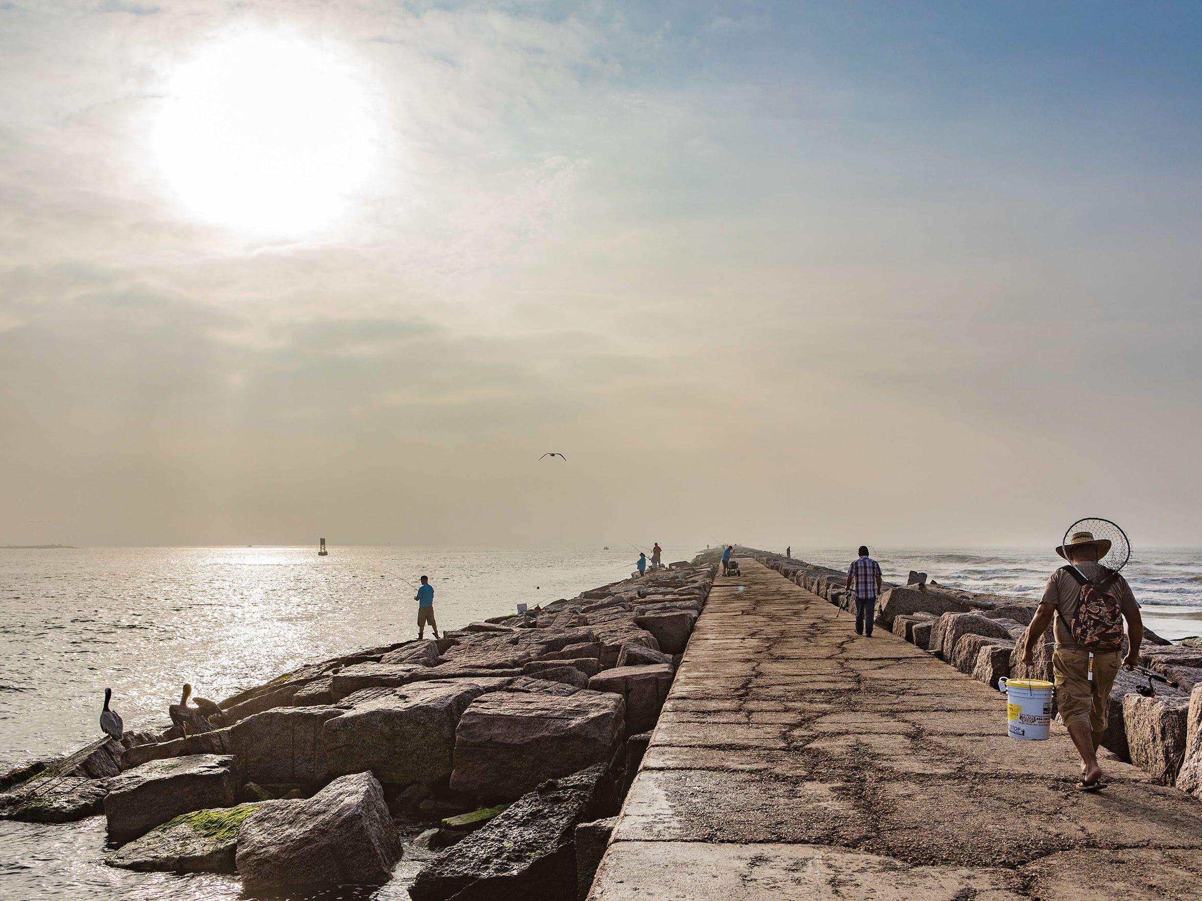 Hurricane Harvey destroyed Port Aransas' three wooden