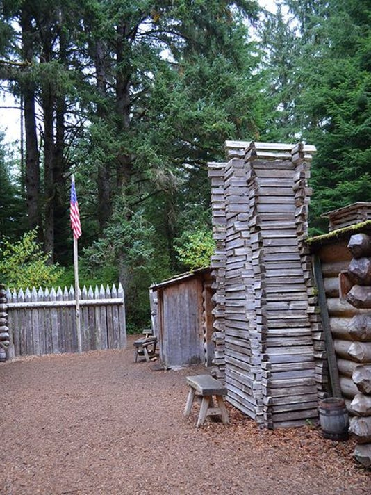 Fort Clatsop is among the attractions at Lewis and Clark National Historic Park near Astoria.
