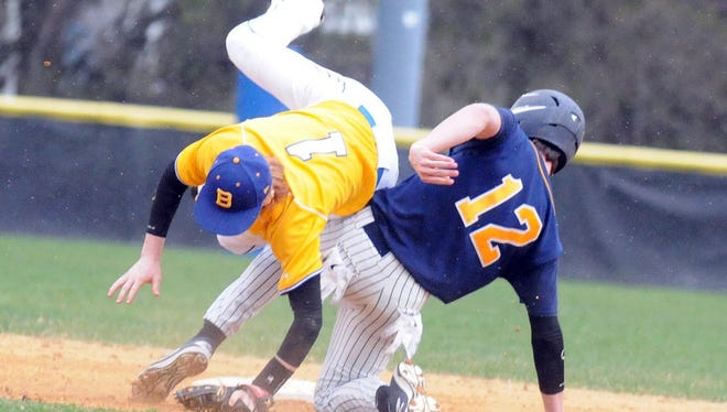 Patrick Brady and the 14th-seeded Butler baseball team advanced to the North 1 Group 1 state semifinals after beating 11-New Milford in Thursday's quarterfinal round.
