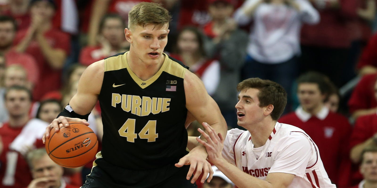 3826a7a07c4 Purdue basketball player Issac Haas accused of infecting partner with STD