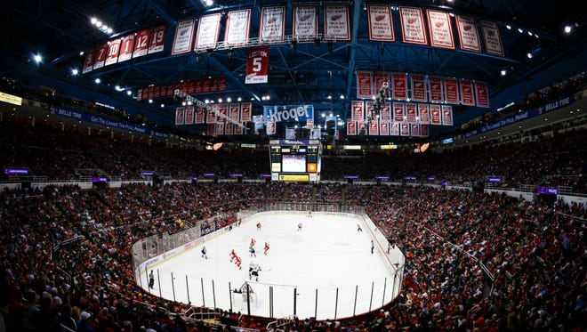 Under a proposal, Joe Louis Arena couldn't hold ticketed events after the Red Wings leave.
