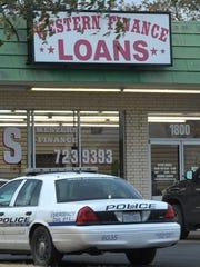 Wichita Falls police investigate a report of an armed