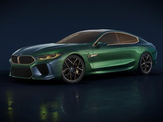 BMW's M8 Gran Coupe concept.