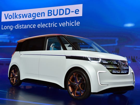 VW shows electric van, its vision of 2019