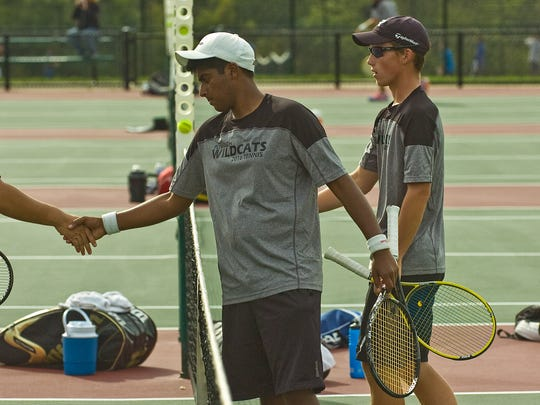 Plymouth doubles tennis players Ramana Ramanathan and
