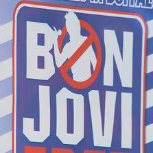 "The ""No Bon Jovi"" poster"