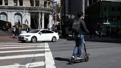 San Francisco welcomes back scooters, but not Uber and Lyft