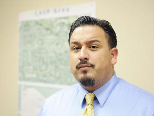 Jose Arreola, community safety administrator for city of Salinas.