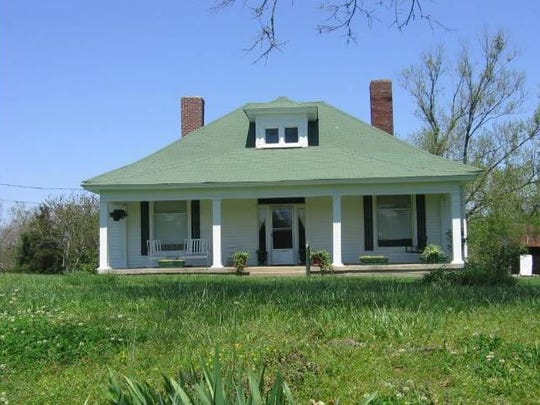This home at 3739 Hoggett Ford Road sits on property eyed for a residential project.