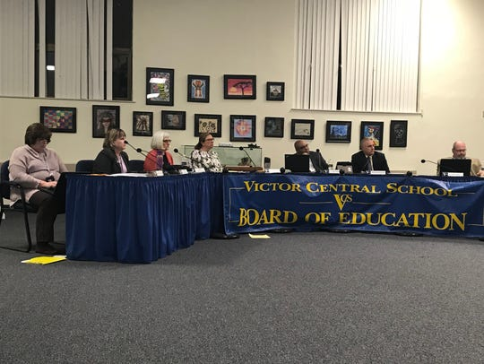 The Victor Central School District Board of Education voted to stop using class rankings at a meeting on Thursday night.