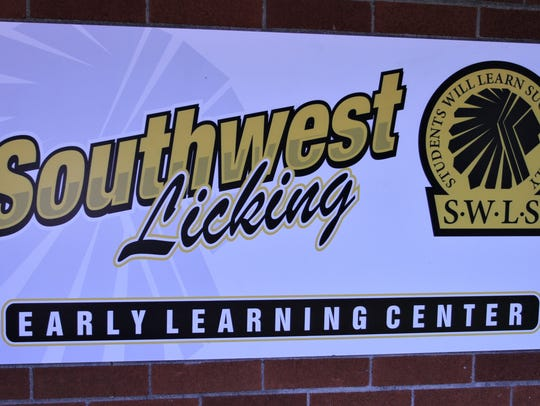 The sign that welcomes parents and students to the