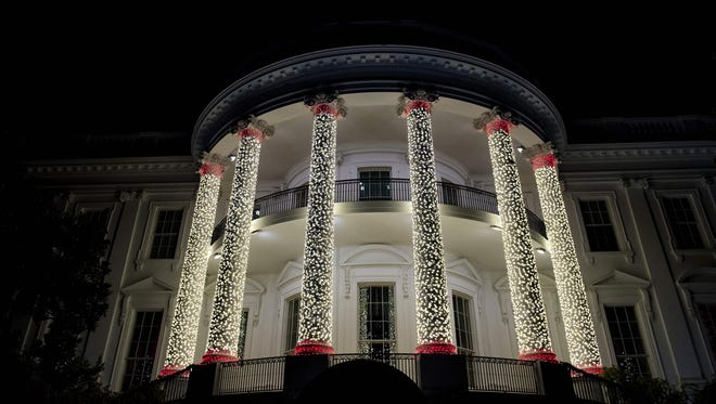 The White House in December 2016.