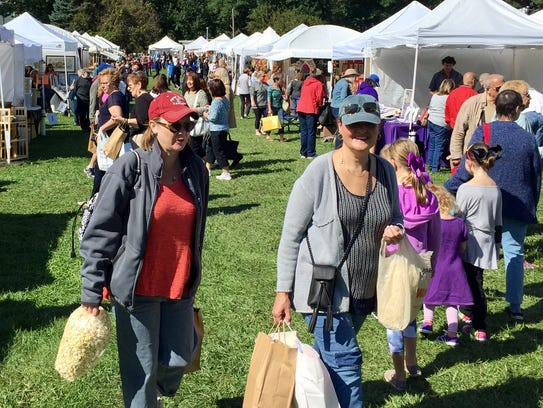 Thousands filled Borough Park for the Chester Fall