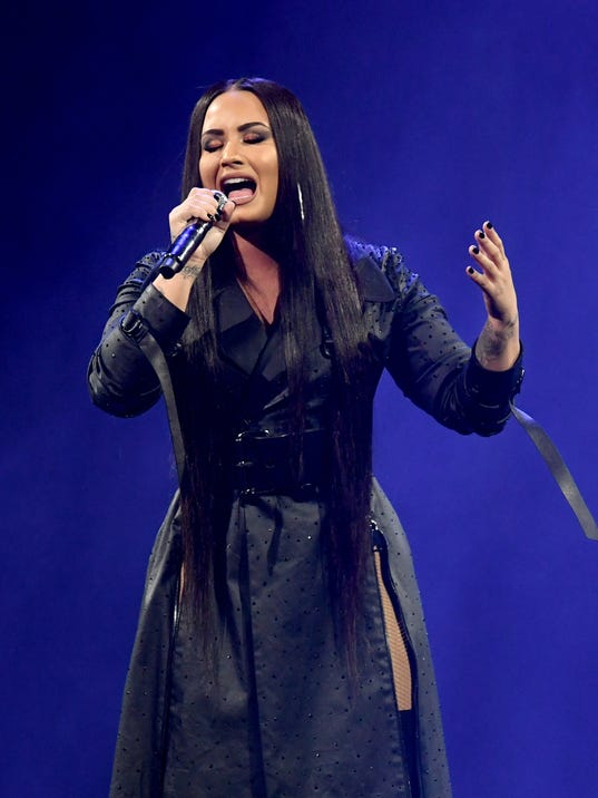 Demi Lovato Performs At The Forum