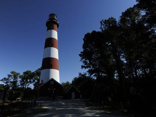 The Assateague lighthouse