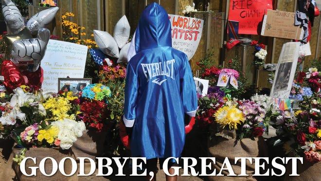 Goodbye Greatest - Muhammad Ali book.