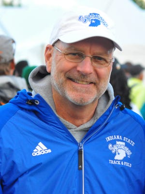 Indiana State track and field coach John McNichols.