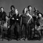 Pensacola's Tyler Greenwell, back row, second from left, plays drums in the Grammy Award-winning Tedeschi Trucks Band, which will perform at the Saenger Theatre on Feb. 26. It will be Greenwell's first hometown show with the band.