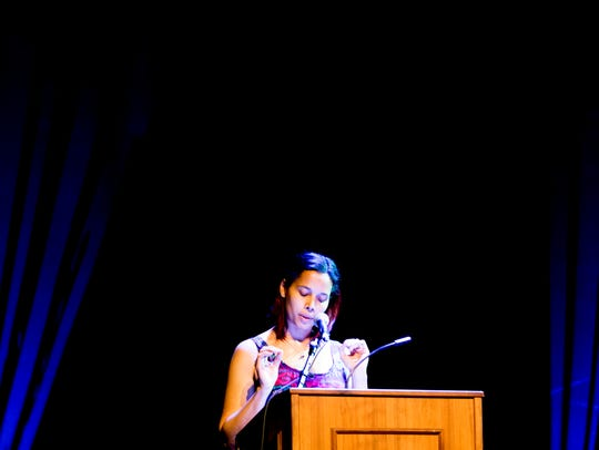 Rhiannon Giddens delivers the Big Ears Festival Keynote
