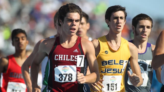 Chiles sophomore Michael Phillips wrapped up the Timberwolves' third consecutive boys Class 3A state title by finishing second in the 1600 during Saturday's FHSAA Track & Field Championships.