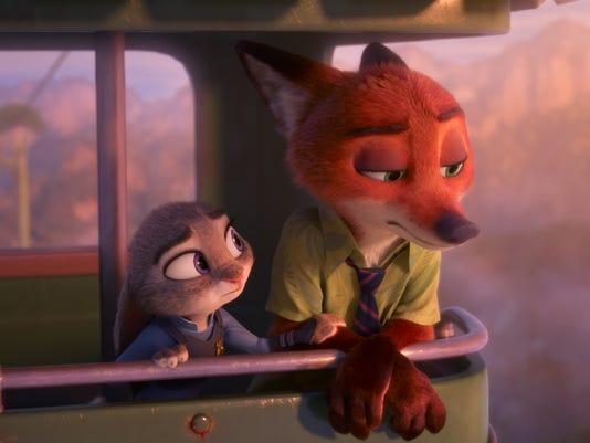 Judy and Nick trip