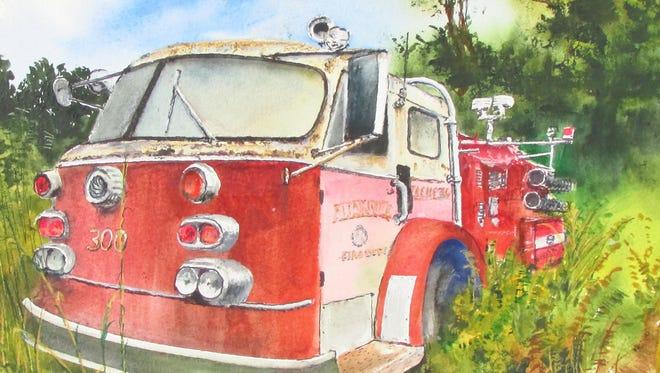 Watercolor paintings by Hattiesburg artist Bobby Walters will be on display at the William Carey University Lucile Parker Gallery at 512 Tuscan Ave. through Jan. 29. The opening reception for the exhibit will be held from 4:30-6 p.m. today.