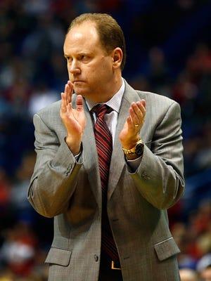 University of Wisconsin basketball coach Greg Gard.