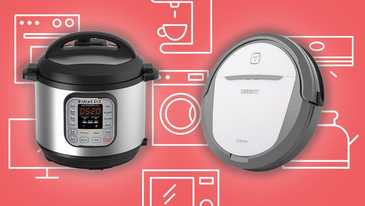 The Instant Pot DUO60 7-in01 and the DEEBOT M80 robot