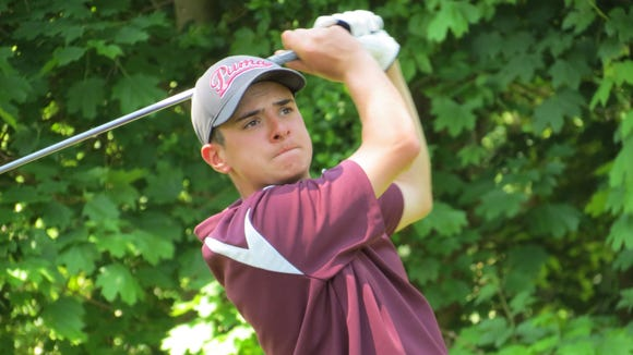 Wayne's Robert McHugh defends his title at the New Jersey Public Links Championship.