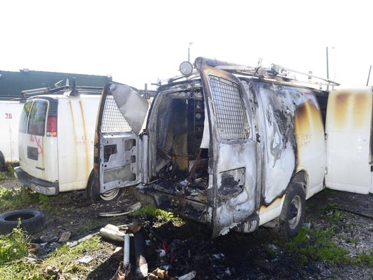 Burned-out-Van