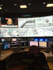 A look inside the control room at ADOT's Traffic Operations