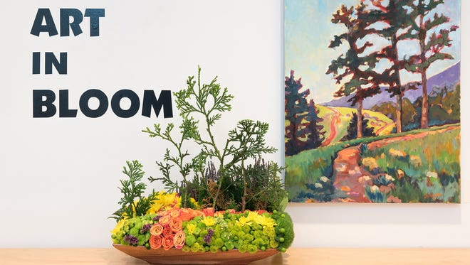 Flowers will fill the Black Mountain Center for the Arts June 14-16 for the 12th annual Art in Bloom.