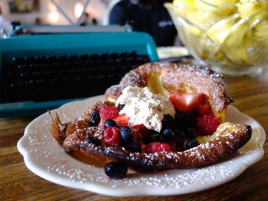 Dutch pancake at Lux Central