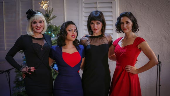 Ariana Savalas, Cristina Gatti, Sara Niemietz and Melinda