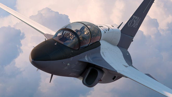 Lockheed Martin hopes to assemble the T-50A in Greenville for use by the Air Force in training fighter pilots.
