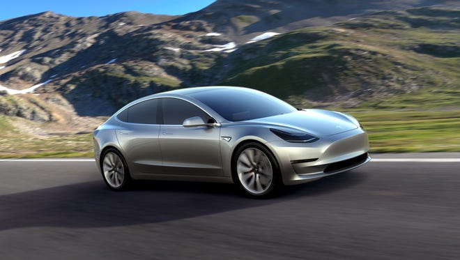 Tesla Motors's Model 3 will be launched in late 2017 and will test the electric car company's ability to produce up to 500,000 vehicles a year. At a starting price of $35,000 — before federal and state government incentives — the Model 3 is less than half the cost of Tesla's previous models.