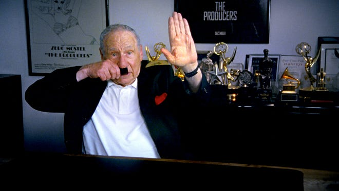 "Mel Brooks interviewed in ""The Last Laugh."""