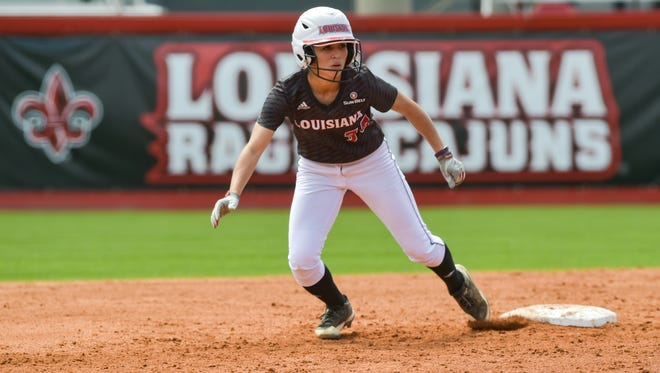 UL's Kelli Martinez is expected to be starting in leftfield or centerfield for the Cajuns this spring.